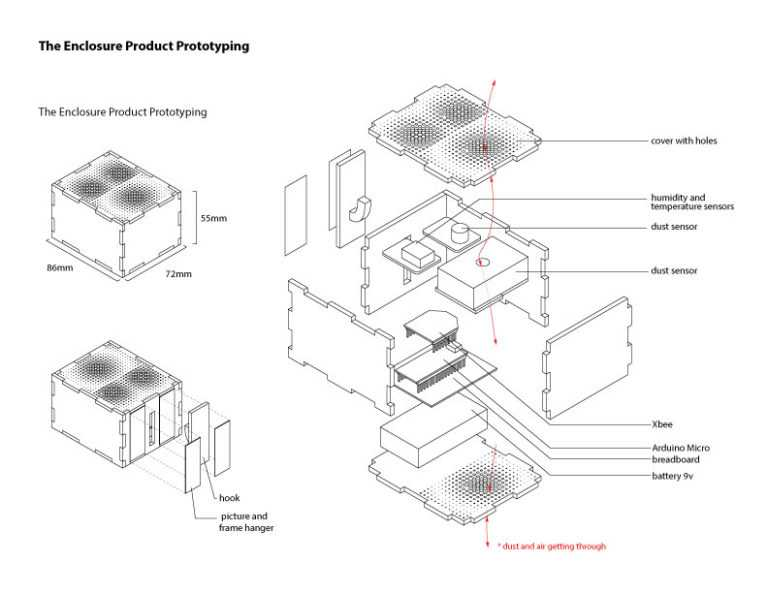 Product prototyping drawing